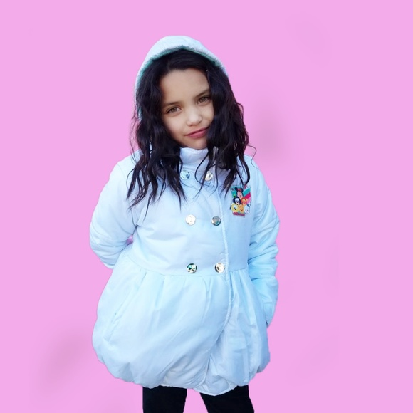 Disney Other - NEW Girls Disney Tsum Tsum Puffed jacket